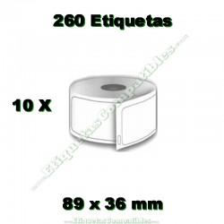 10 Rollos 99013 Transparente