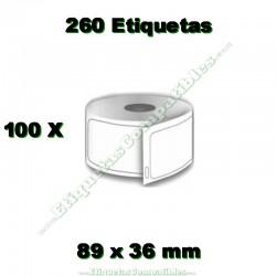 100 Rollos 99013 Transparente