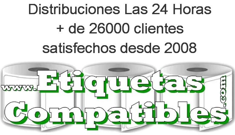 Distribuciones Las 24 Horas. + de 26000 clientes satisfechos desde 2008