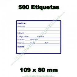 """1 Rollo 500 Etiquetas """"Direcciones"""""""