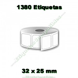 1 Rollo 32 x 25 mm