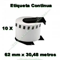 10 Rollos 22205