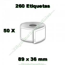 50 Rollos 99013 Transparente
